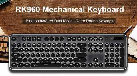 Royal Kludge RK960 - Royal Kludge RK960 Dual Mechanical Gaming Keyboard Banggood Coupon Promo Code