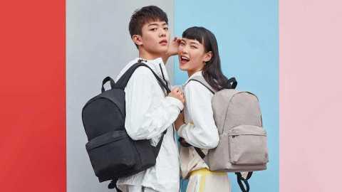 Xiaomi 90 FUN Youth College Backpack - Xiaomi 90 FUN Youth College Backpack Banggood Coupon Promo Code