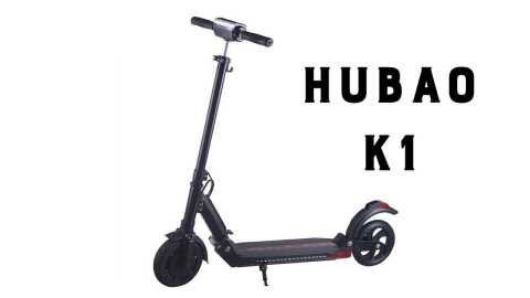hubao k1 - Hubao K1 Folding Electric Scooter Banggood Coupon Promo Code