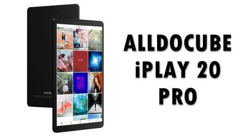 Alldocube iPlay 20 Pro - ALLDOCUBE iPlay 20 Pro Banggood Coupon Promo Code [6+128GB] [Czech Warehouse]