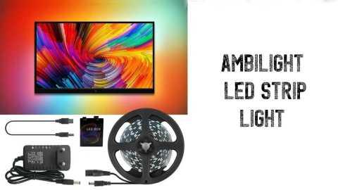 Ambilight LED Strip Light - Ambilight LED Strip Light for Desktop PC Screen Banggood Coupon Promo Code