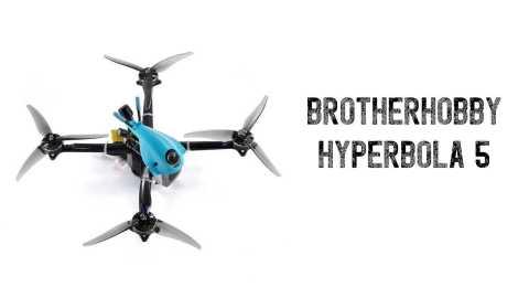 BrotherHobby Hyperbola 5 - BrotherHobby Hyperbola 5 Inch Frsky XM+ BNF FPV Racing Drone Banggood Coupon Promo Code