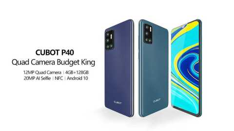 Cubot P40 - Cubot P40 Gearbest Coupon Promo Code [4+128GB]