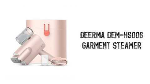 Deerma DEM HS006 Garment Steamer - Deerma DEM-HS006 Handheld Garment Steamer Gearbest Coupon Promo Code [with Storage Box]