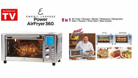 Emeril Lagasse power AirFryer 360 - Emeril Lagasse Power AirFryer 360 Coupon Promo Code