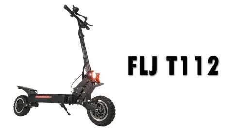 FLJ T112 - FLJ T112 Folding Electric Scooter Banggood Coupon Promo Code [UK Warehouse]