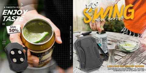 Go Swing Topless Can Opener - Go Swing Topless Can Opener Banggood Coupon Promo Code