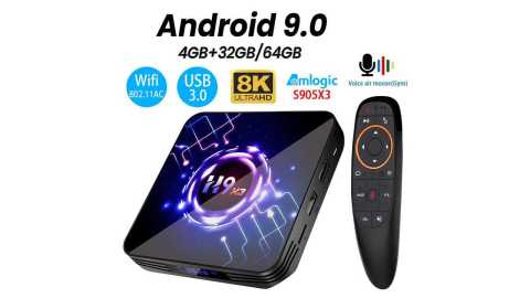H9 X3 - H9 X3 8K 4K Ultra XDR TV BOX Gearbest Coupon Promo Code [4+64GB]