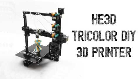 HE3D - HE3D Tricolor 3D Printer Gearbest Coupon Promo Code