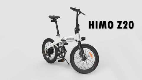 Himo Z20 - Himo Z20 Foldable Electric Bicycle Gearbest Coupon Promo Code [Germany Warehouse]