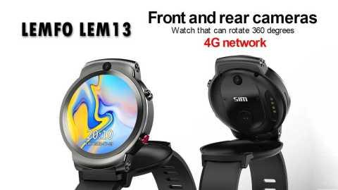 LEMFO LEM13 - LEMFO LEM13 4G Smart Watch Phone Banggood Coupon Promo Code