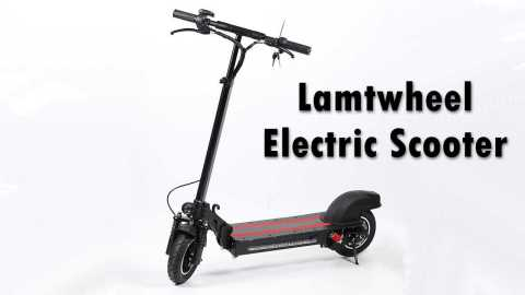Lamtwheel Electric Scooter - Lamtwheel Electric Scooter Gearbest Coupon Promo Code [Germany Warehouse]