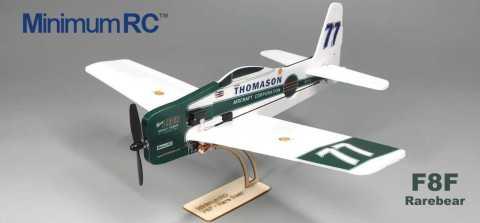 MinimumRC F8F Rarebear V2 - MinimumRC F8F Rarebear V2 Mini RC Airplane KIT Banggood Coupon Promo Code