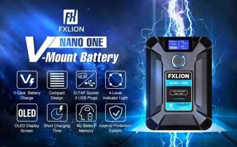 Moman FXLION Nano ONE - FXLION Nano ONE V Mount Battery Amazon Coupon Promo Code