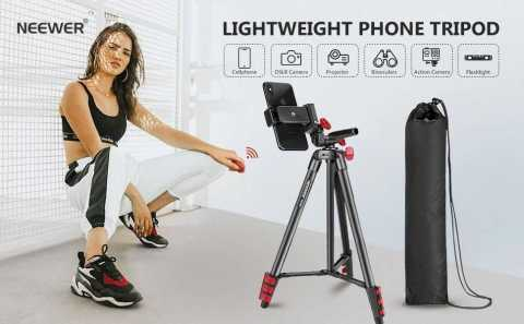 Neewer Cell Phone Tripod - Neewer Lightweight Cell Phone Tripod Amazon Coupon Promo Code