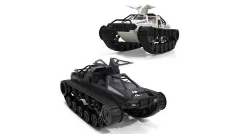 RB01K 1203 - SG RB01K 1203 1:12 RC Drift Tank Kit Banggood Coupon Promo Code [Without Electronic]