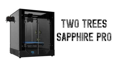 TWO TREES Sapphire Pro - TWO TREES Sapphire Pro 3D Printer Banggood Coupon Promo Code [France Warehouse]