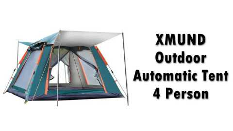 XMUND Outdoor Automatic Tent 4 Person - XMUND Outdoor Automatic Tent 4 Person Banggood Coupon Promo Code