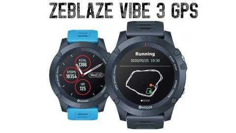 Zeblaze VIBE 3 GPS - Zeblaze VIBE 3 GPS Smart Watch Banggood Coupon Promo Code