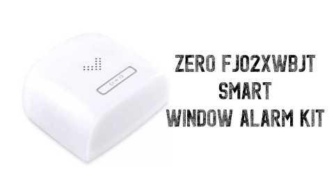 Zero FJ02XWBJT - Xiaomi Zero/Dingling FJ02XWBJT WIFI Smart Window Alarm Kit Banggood Coupon Promo Code