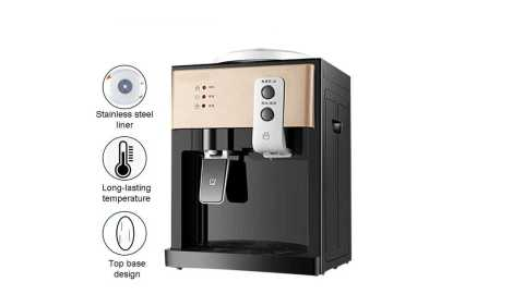 AUGIENB Electric Desktop Water Dispenser - AUGIENB Electric Desktop Water Dispenser Banggood Coupon Promo Code [Czech Warehouse]