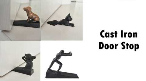 Cast Iron Door Stop - Cast Iron Door Stop Banggood Coupon Promo Code