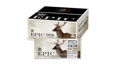 EPIC Venison Sea Salt Pepper Bars - EPIC Venison Sea Salt & Pepper Bars Amazon Coupon Promo Code