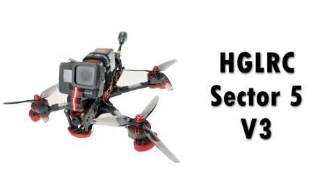 HGLRC Sector 5 V3 - HGLRC Sector 5 V3 6S Freestyle FPV Racing Drone Banggood Coupon Promo Code