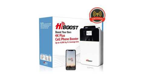 HiBoost 4K PLUS - HiBoost 4K PLUS Cell Phone Signal Booster Amazon Coupon Promo Code