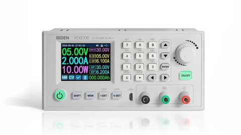RIDEN RD6006 W - RIDEN RD6006-W Digital Control Switch Adjustable Power Supply Banggood Coupon Code [Czech Warehouse]