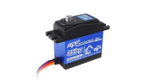 SPT SPT5435LV 180 32KG 180 Digital Servo - SPT SPT5435LV-180 32KG 180°Digital Servo Banggood Coupon Promo Code