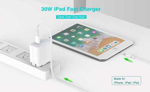 SZPOWER 30W iPad Fast Charger - SZPOWER 30W iPad Fast Charger Amazon Coupon Promo Code