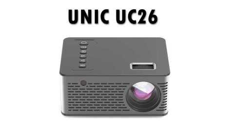 UNIC UC26 - UNIC UC26 Mini Micro LCD Projector Banggood Coupon Promo Code [Czech Warehouse]