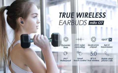 mifo O7 blue - mifo O7 Blue TWS Wireless Earbuds  Amazon Coupon Promo Code