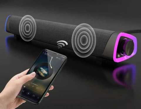 3D Surround Soundbar - 3D Surround Soundbar Wired Bluetooth 5.0 Speaker Banggood Coupon Promo Code