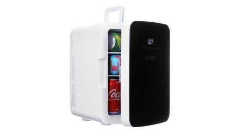 Audew Mini Car Refrigerator - Audew 10L Mini Car Refrigerator Fridge Banggood Coupon Promo Code [Czech Warehouse]