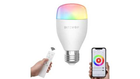 BlitzWolf BW LT27 - BlitzWolf BW-LT27 Smart LED Bulb Banggood Coupon Promo Code [2Pcs] [Czech Warehouse]