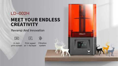 Creality 3D LD 002H - Creality 3D LD-002H UV Resin 3D Printer Banggood Coupon Promo Code