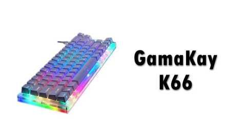 GamaKay K66 - GamaKay K66 66Key Tyce-C Mechanical Gaming Keyboard Banggood Coupon Promo Code