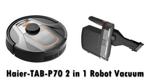 Haier TAB P70 - Haier TAB P70 2 in 1 Robot Vacuum Cleaner Banggood Coupon Promo Code