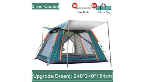 IPRee 4 6 Person tent - IPRee 4-6 Person Upgrade Camping Tent Banggood Coupon Promo Code [Australia Warehouse]