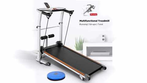 KALOAD Mini Multifunction 3In 1 Treadmill - KALOAD Mini Multifunction 3 In 1 Treadmill Banggood Coupon Promo Code