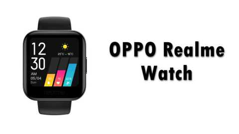 OPPO Realme Watch - OPPO Realme Watch Gearbest Coupon Promo Code