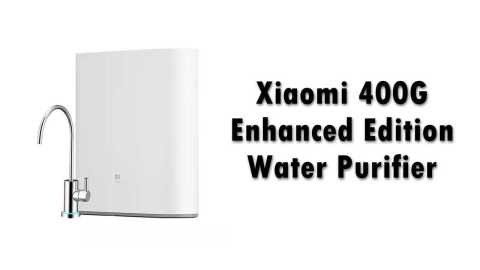 Xiaomi 400G Enhanced - Xiaomi Water Purifier 400G Enhanced Edition Banggood Coupon Promo Code
