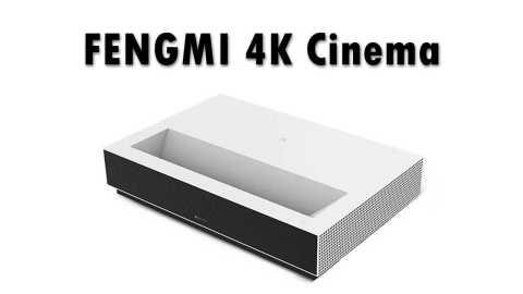 Xiaomi FENGMI 4K Cinema - Xiaomi Fengmi 4K Cinema Laser TV Banggood Coupon Promo Code [White]