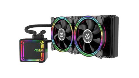 ALSEYE H240 - ALSEYE H240 RGB Water Cooling CPU Fan Banggood Coupon Promo Code