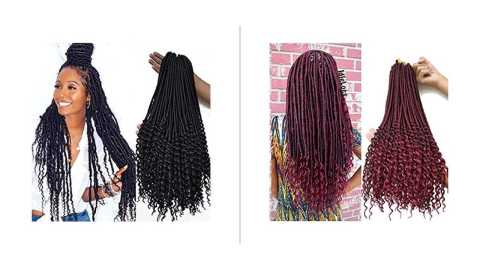 Ali Sally Curly Faux Locs - Ali Sally Curly Faux Locs Crochet Style Amazon Coupon Promo Code [6Packs]