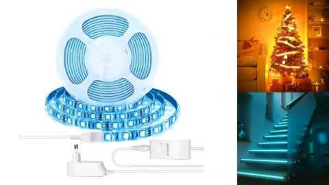 BlitzWolf BW LT11 - BlitzWolf BW-LT11 Smart LED Light Strip Banggood Coupon Promo Code [2M/5M]