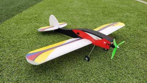 Dragonfly rc airplane - Dragonfly 700mm Wingspan RC Airplane Kit Banggood Coupon Promo Code