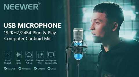 Neewer USB Microphone - Neewer USB Condenser Microphone Amazon Coupon Promo Code